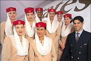Tripulante de cabinas Emirates