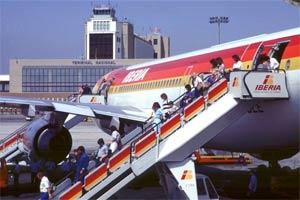 Iberia desembarque